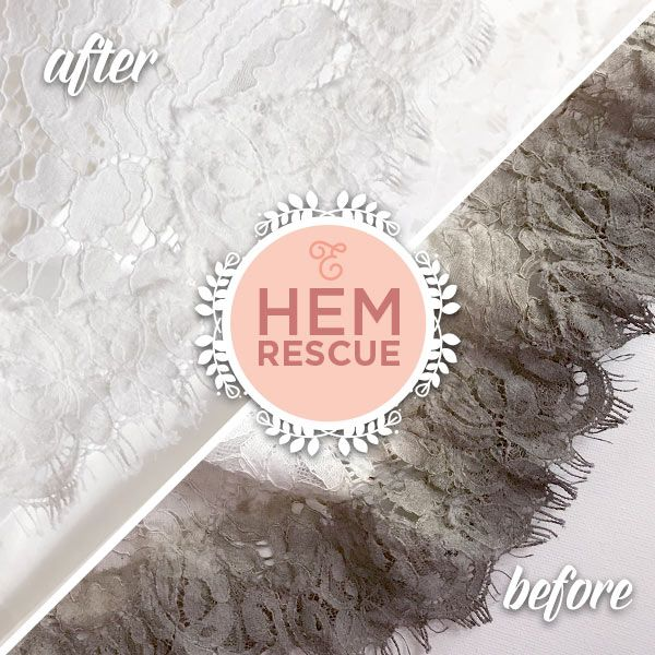 Does your wedding dress look like this? Clean and preserve your wedding gown with Elegance Preserved.