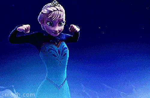 elsa ice powers gif | lol