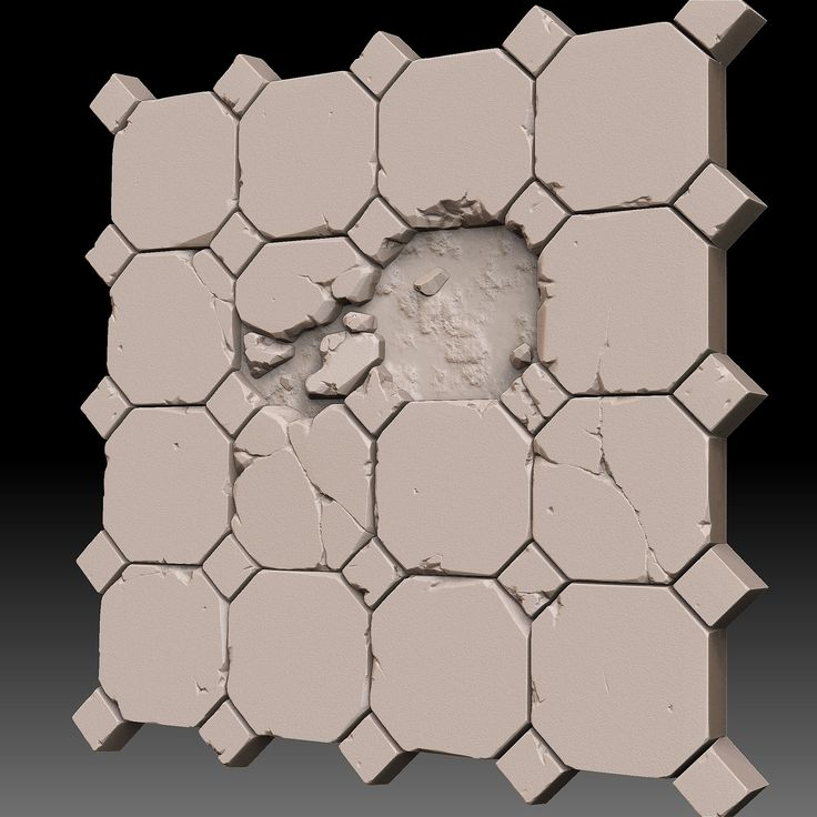 3D tile_Floor, Daniel DongHyun Kim on ArtStation at https://www.artstation.com/artwork/3d-tile_floor