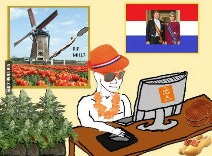 What people imagine when I say I'm from the Netherlands