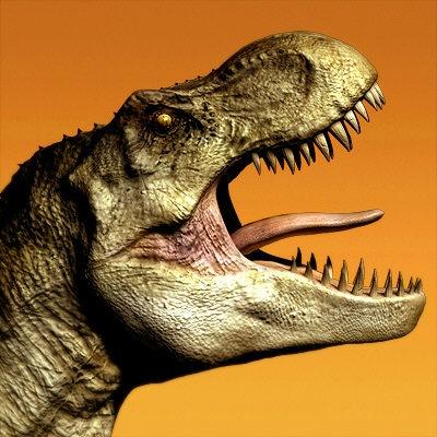 T-Rex head.