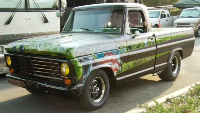 Rob Zombie S Custom 67 Ford F 100 Rob Zombie Ford Counting Cars