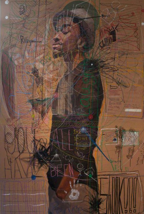 Best A Images On Pinterest Art World - Guy paints over graffiti and rewrites them in a more legible way