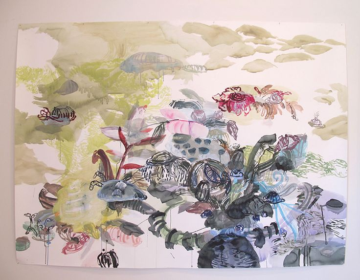 Jane Henzell. New Zealand.  Reveries: even in an empty garden, the pungent posies swell.