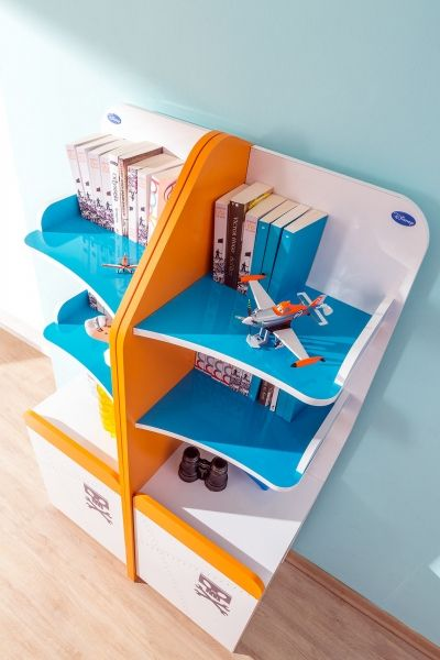 Bücherregal Planes, 44 X 166 Cm