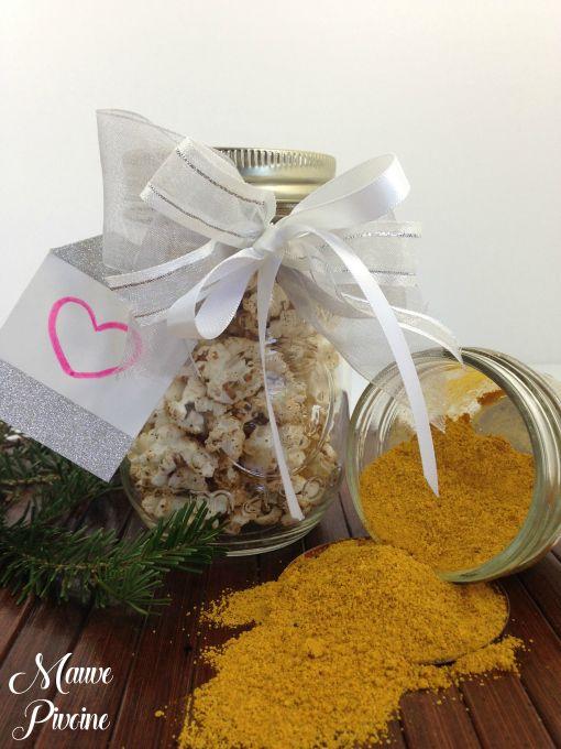 Popcorn épicé, salé ou sucré! On adore!  Spiced popcorn! We love it salty or sugarly!