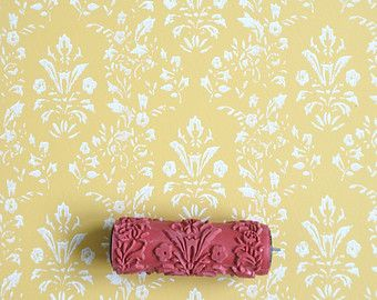 Patterned Paint Roller No.26 from Paint & by patternpaintrollers
