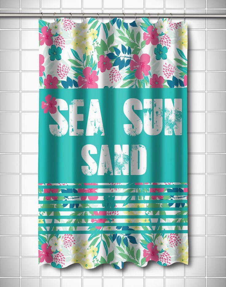 Best 25 Beach Shower Curtains Ideas On Pinterest