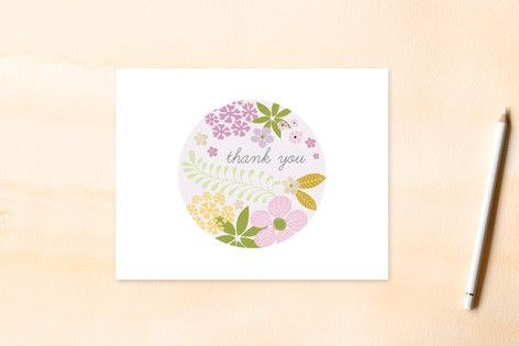 Tropical Thankyou Self-Launch Women's Flat Stationery from $2.20