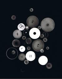 Photogram of various buttons