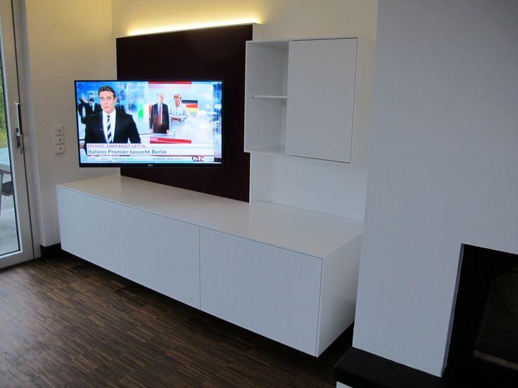 Mediamöbel mit schwenkabrem TV