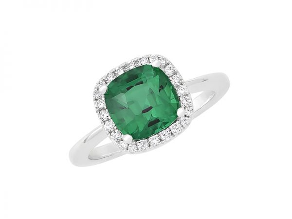 Emerald Ring – Gaze into a fine emerald and you see paradise in its lush green