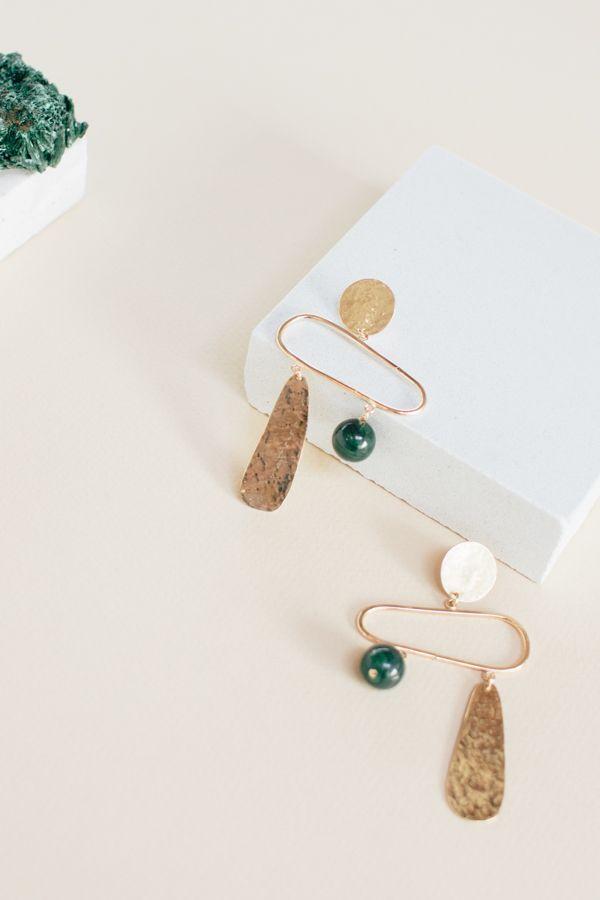 3f7a6143966a2 Pillar Earrings in 2019 | Statement ♥ Jewelry | Earrings, Jewelry ...