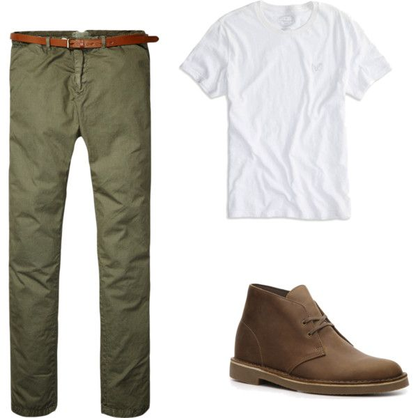 """Simple Trendy Men's Outfit"" by molly-swart on Polyvore"