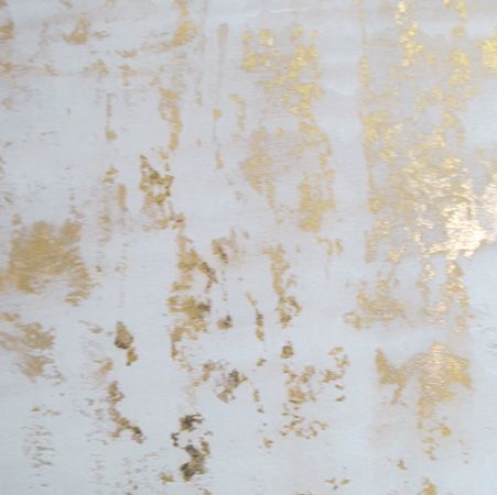Step by Step: Metallic Paint & Gold Foil Wall