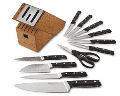 Calphalon Classic Self-Sharpening Cutlery Knife Block Set with SharpIN Technology, Calphalon Knife Sets