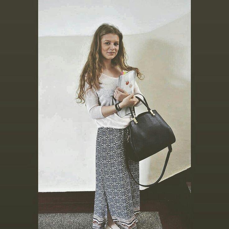 #boho #newlook #outfit #school #outfit #britishvogue #black #bag