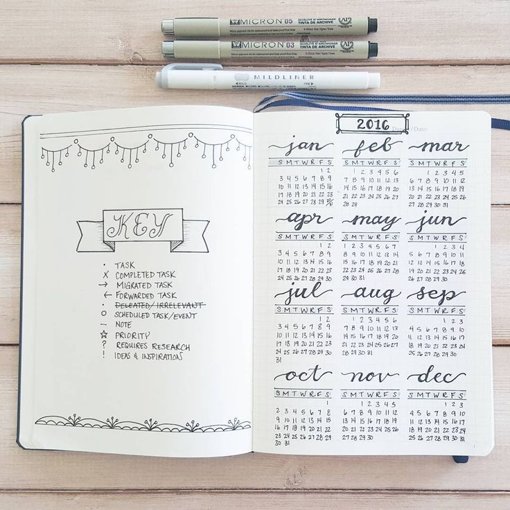 Best  Calendar Journal Ideas On   Bullet Journal