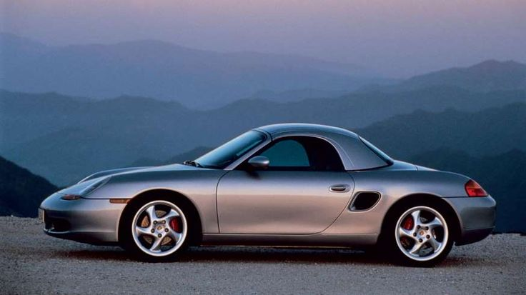 Boxster 986 with hardtop