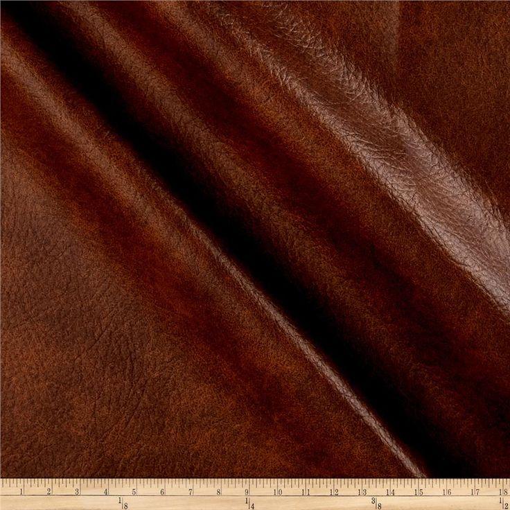 Richloom Tough Faux Leather Longville Cognac | Faux ... on Cognac Leather Headboard  id=23489