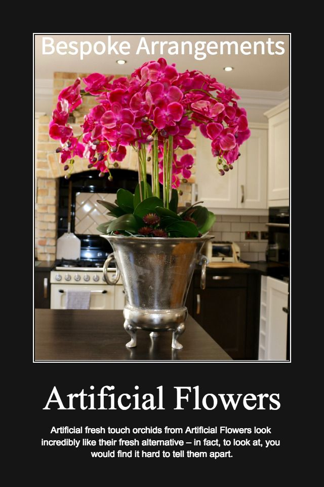 Professionally designed artificial flowers are your long-lasting, low maintenance option for revitalising a dreary-looking space in your home. Browse our online store to explore just some of the possibilities of artificial flower arrangements or alternatively please contact us to create a bespoke arrangement for you.   http://wu.to/gnHpWw