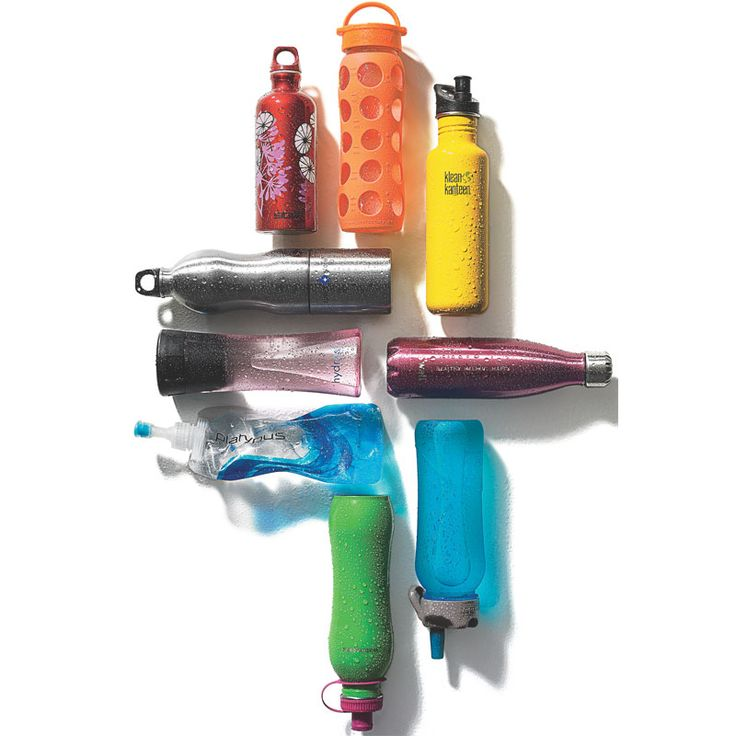 Just add water! These refillable bottles will protect you from dangerous BPA and help you save the planet. Talk about drinking responsibly.
