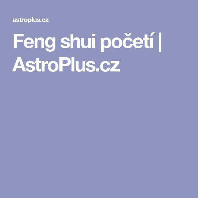 Feng shui početí | AstroPlus.cz