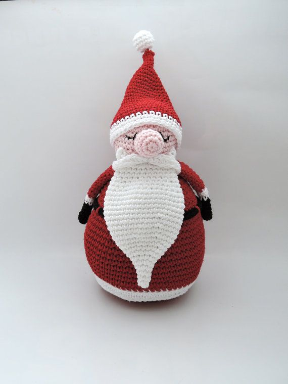 NOT FREE Crochet Santa Claus