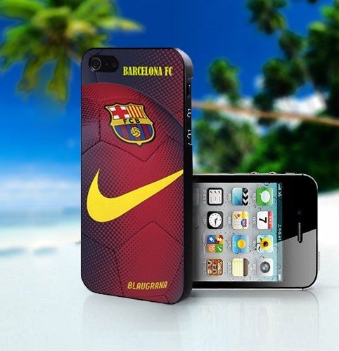 Nike Barcelona FC Football Club - Photo On Hard Cover For iPhone 4,4S