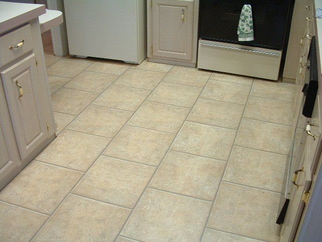 Kitchen Floor Tile | Most of the laminate tile I have installed were mostly in kitchens ...