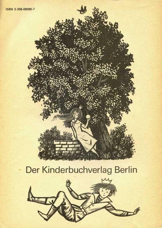 """""""Die Kinder- und Hausmärchen der Brüder Grimm. """"Illustrationen von Werner Klemke. Verlag: Kinderbuchverlag, Berlin."""