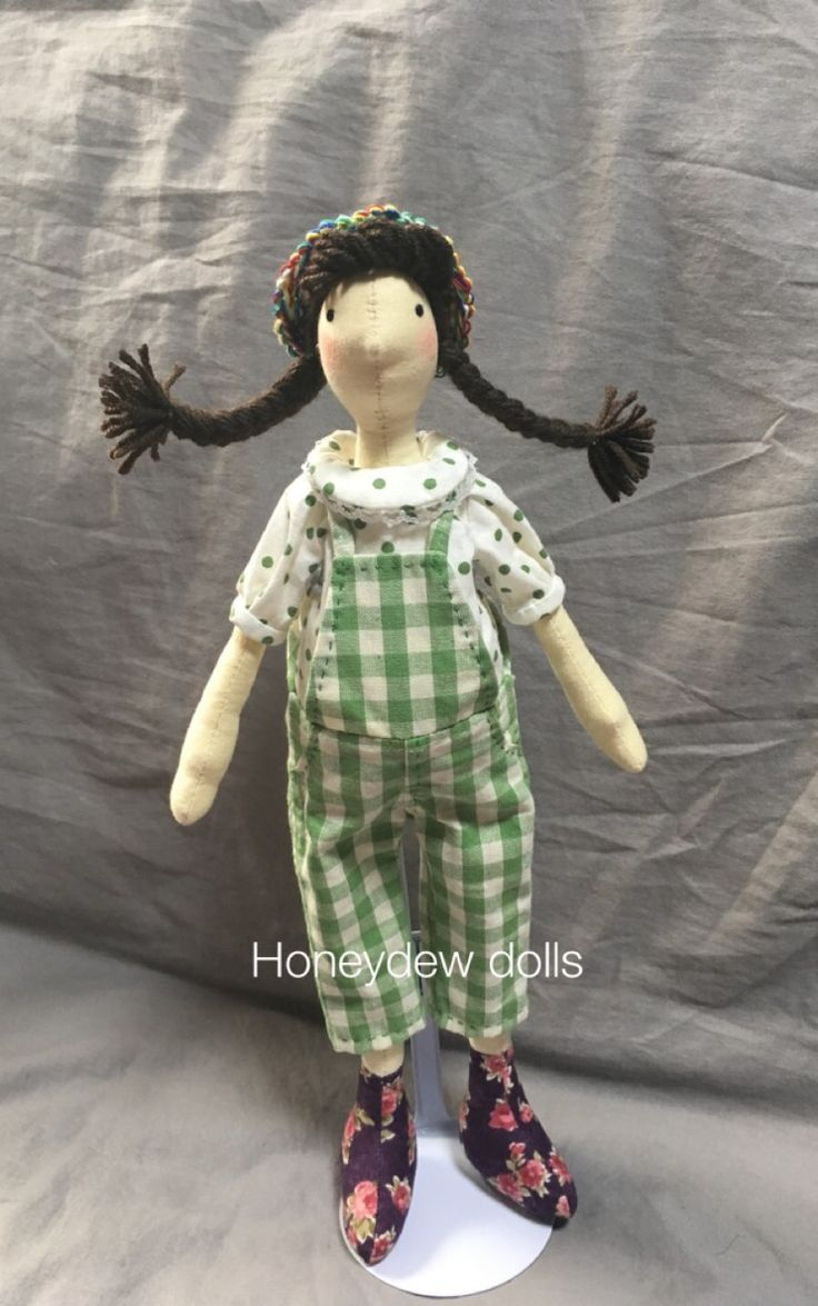 "Honeydew dolls 의 오버롤 팬츠 시리즈 2 핸드메이드 인형 ""웬디""를 소개합니다^^ ----- ""웬디""의 키는 33..."