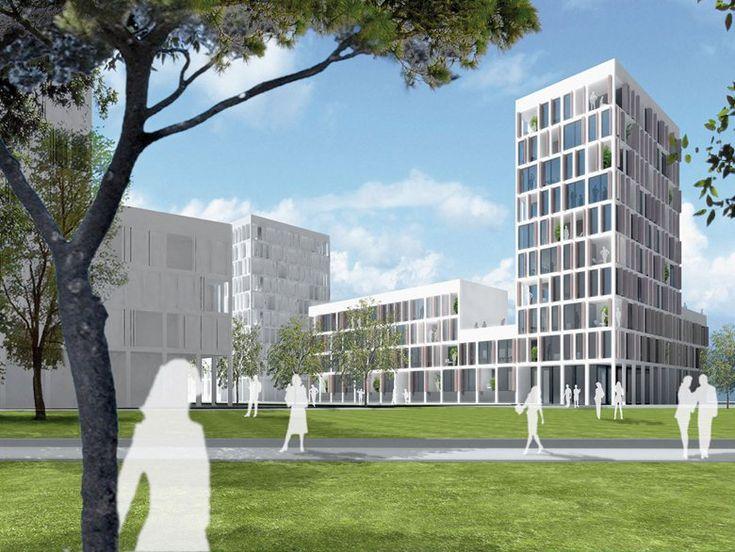 Trilogia Navile - Edifici per uffici, Ex Mercato Fioravanti (BO), Bologna, 2012 - JSWD Architekten, Frederik Jaspert