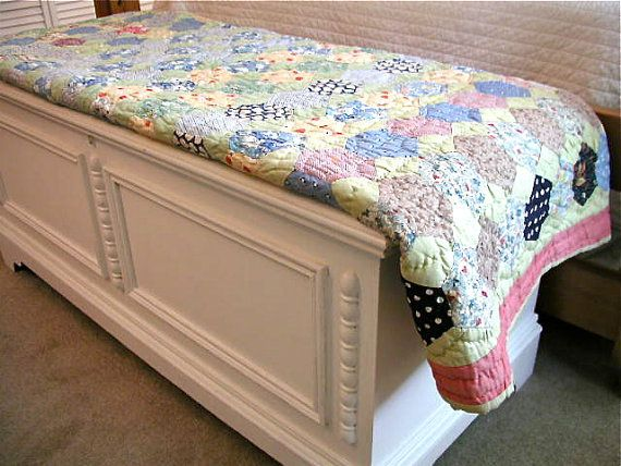 I Love This Old Flour Sack Quilt!