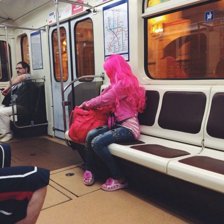 Васи.нет > Модники из российского метрополитена (23 фото)