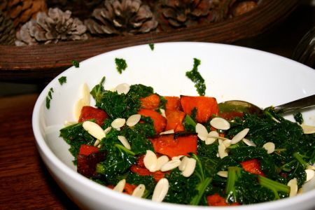 Yummy Kale Pumpkin Salad Recipe. I didn't grow up with this veggies, it's all pretty new to me. But now I'm a passionate lover of this vegetable.