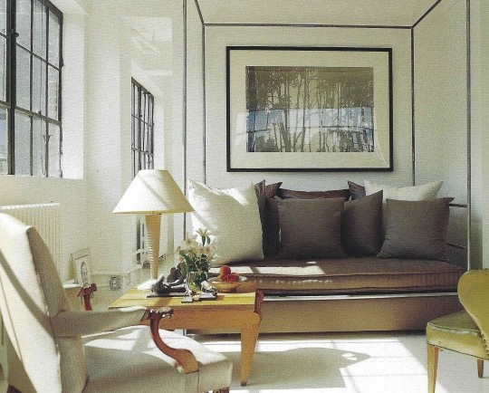Vincent Wolf Interior Designer: Cream, Taupe + Ivory