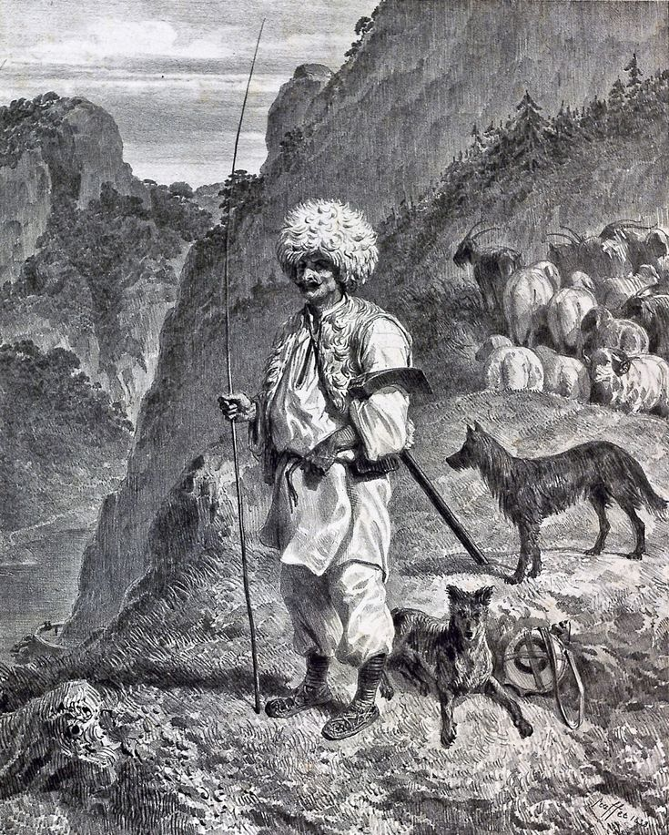 Shepherd of Banat (1838)