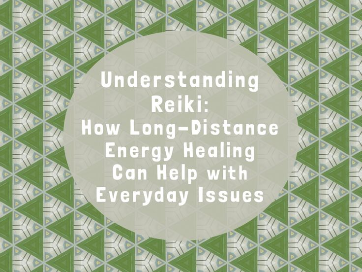 how to give distance reiki