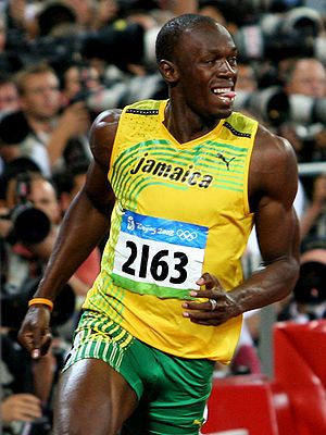 Usain Bolt...... Track and Field is where its at....