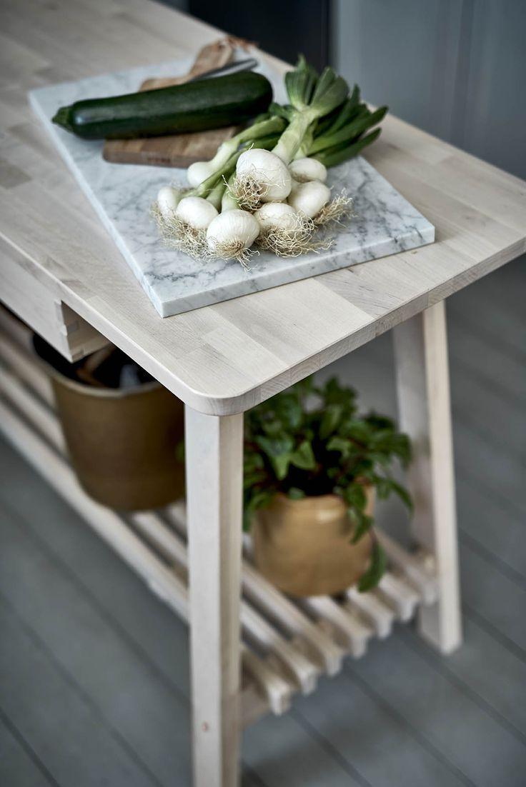 Keuken Werkbank Ikea : IKEA #IKEAnl #massief #berken #koper #duurzaam #slijtvast #keuken #
