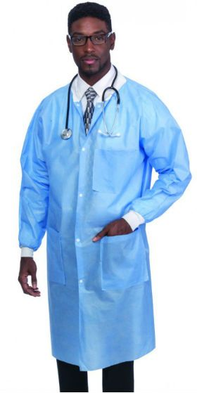 Blue disposable lab coats https://dentalsuppliesstore.com/Disposable-Lab-Coats