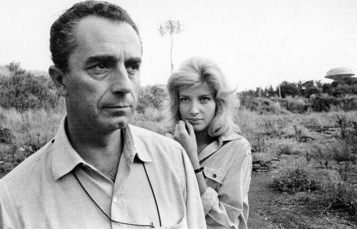 antonioni and monica vitti - the couple