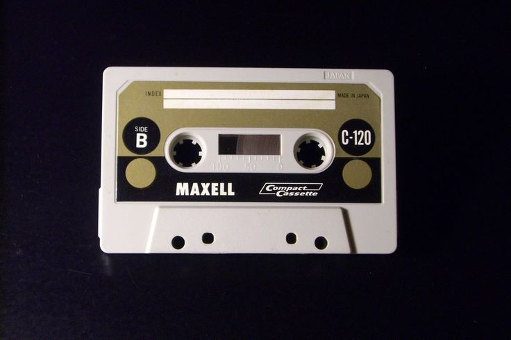 MAXELL VINTAGE AUDIO CASSETTE TAPE  C-120 ( USED )( TYPE I ) (1967-69 ) (JAPAN ) #Maxell