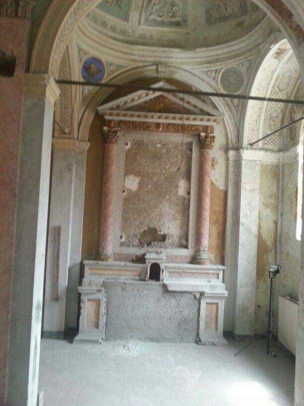 Chiesa di San Rocco a Bergamo Alta sede di Contemporary locus 6 dal 17 maggio con Margherita Moscardini e Jo Thomas