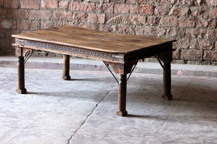 Our Kalinda 'Subtle Carving' Dining Table is another one of our beautifully carved dining tables. This 'one of a kind' vintage dining is table suitable for 8 - 10 people, and makes a perfect centerpiece in your dining room or kitchen.