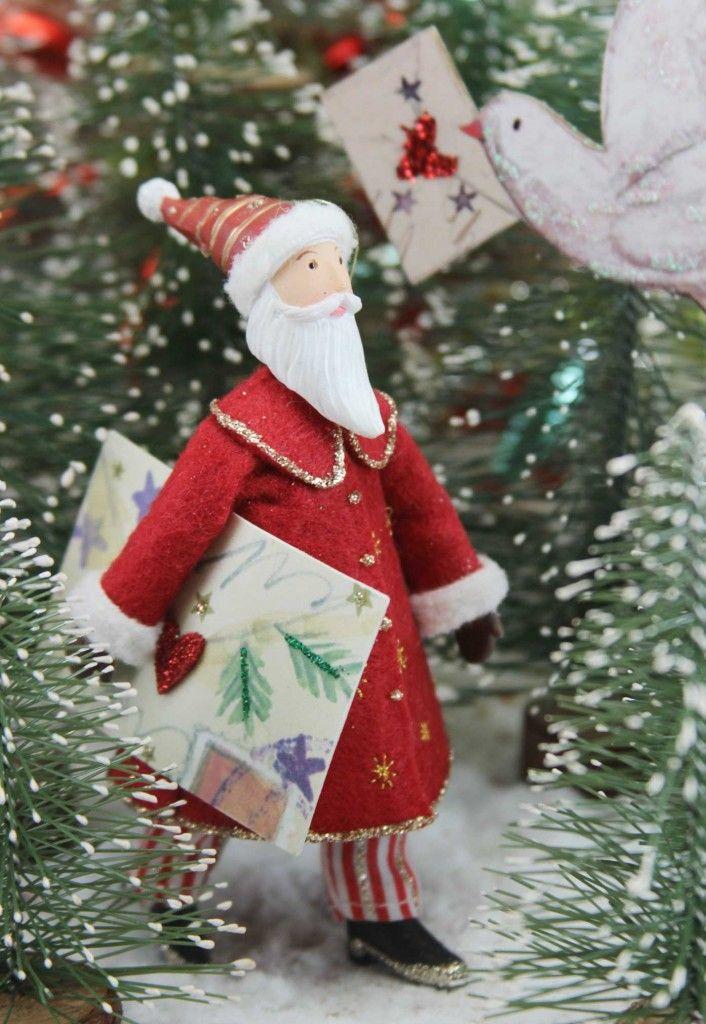 Old World Christmas Decorating Ideas   Vintage Christmas Tree Decorations   Old Time Christmas: Resin Fabric ...