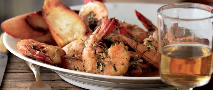 "Curtis Stone | New Orleans ""Barbecued"" Shrimp with Amber Ale"