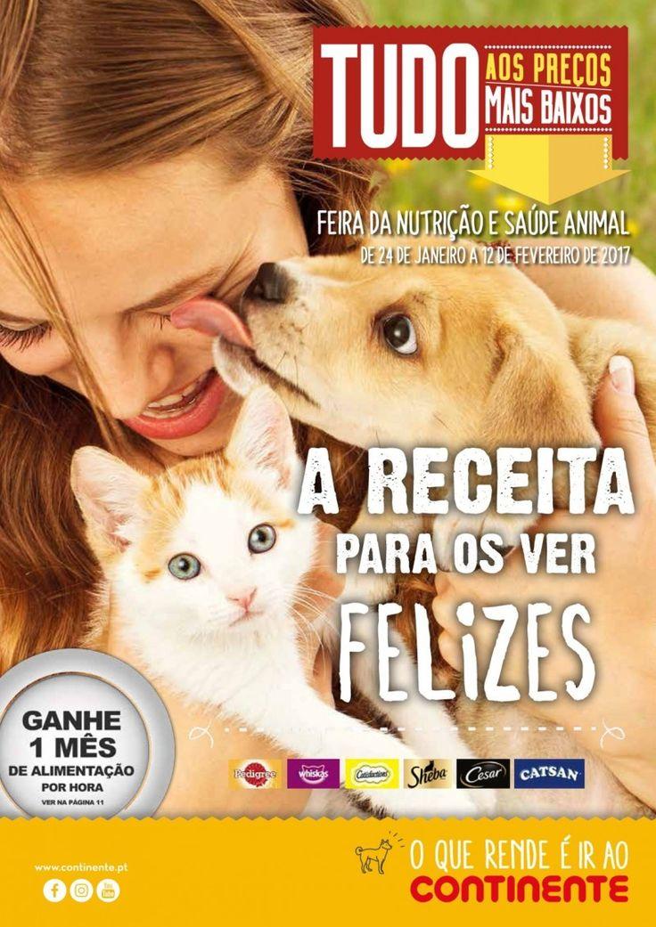 Folheto Continente feira da nutrição e saúde animal #Continente
