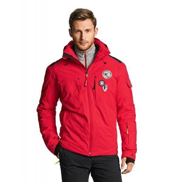 Bogner Bogner Piz D Mens Red Ski Jacket - Bogner from White Stone UK